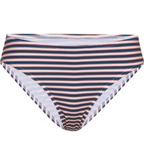 stripe classic bikini briefs bikinitrosa blå french connection