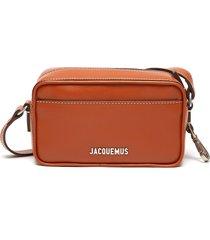 'le baneto' leather crossbody bag