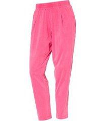 broek so charlotte pleats jersey pant b00-424-00 rose