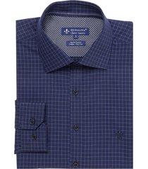 camisa dudalina manga longa fio tinto xadrez masculina (xadrez, 7)