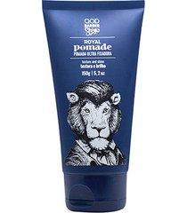 pomada para cabelos qod barber shop royal pomade 150g