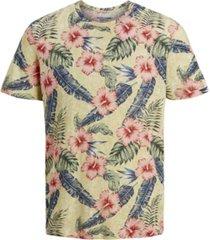 jack & jones men's all over printed short sleeve t-shirt