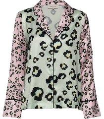rio shirt blouse lange mouwen multi/patroon by malina