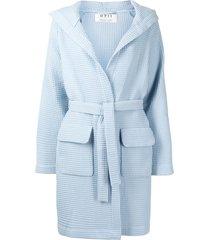 0711 wednesday robe coat - blue