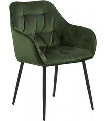 krzesło fotel tapicerowany wayn zielony