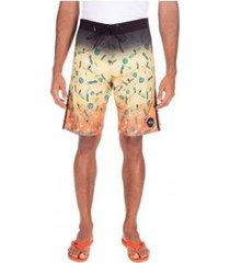 bermuda oakley tropical big pattern masculina