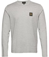 belstaff l/s t-shirt t-shirts long-sleeved grijs belstaff