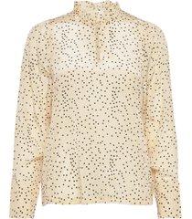 angeline blouse blouse lange mouwen geel nué notes