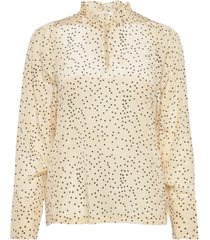 angeline blouse blouse lange mouwen geel nué notes