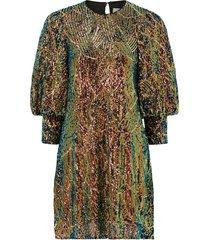 paljettklänning rubina dress