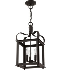 closeout! livex garfield 3-light convertible mini pendant/ceiling mount