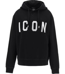 dsquared2 icon hoodie with crystals
