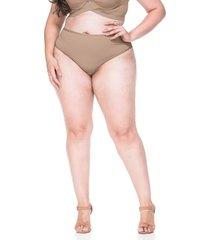 calcinha sempre sensual lingerie lamour marrom claro - marrom - feminino - dafiti