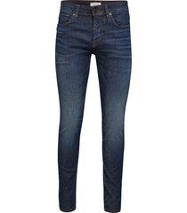 slhslim-leon 6156 d.blu su-st jns w noos slimmade jeans blå selected homme