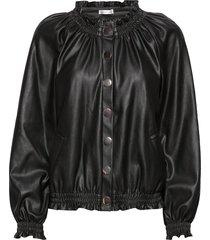 laurel jacket läderjacka skinnjacka svart ida sjöstedt
