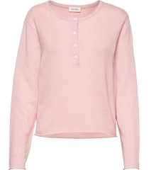 bizbow stickad tröja rosa american vintage