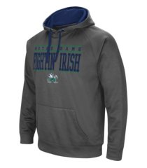 colosseum notre dame fighting irish men's poly performance hooded sweatshirt
