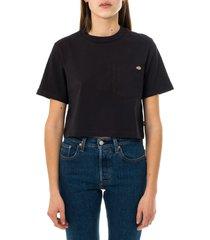 dickies t-shirt donna ss porterdale crop w dk0a4xdeblk