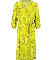 jurk lily geel