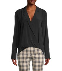 bailey 44 women's sloane high-low top - black - size xs