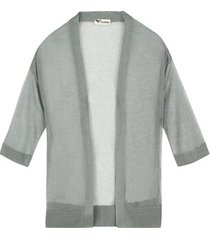 cardigan manica 3/4 lurex ultralight