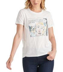 lucky brand comic book nye graphic t-shirt