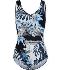 badpak maritim blauw::zwart