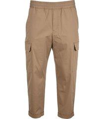 neil barrett cotton modal cargo pants