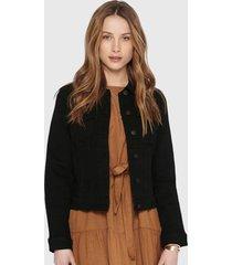 chaqueta only negro - calce ajustado