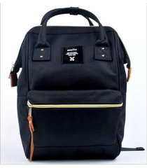anello ring backpack canvas school printing ring bag supreme backpack womens vin