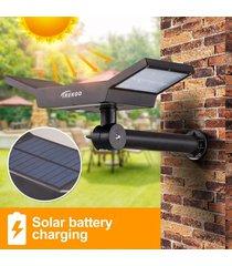 arilux dc5.5v / 1.3w 20leds de la luz blanca dos modos impermeable estaca sensor de movimiento solar al aire libre luces led para patio, plataforma, patio, jardín - no especificado
