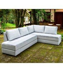 sofá cama de canto 3150 vizzi