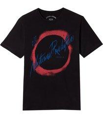 camiseta john john nocturnal revolutions masculina (cinza chumbo, gg)