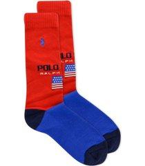 polo ralph lauren men's polo sport crew socks