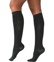 calcetín active con compresión 11/14 mmhg negro ibici