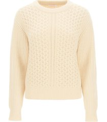see by chloé alpaca and wool sweater