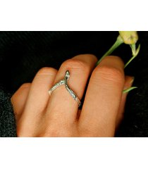 pierścionek gałązka