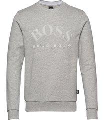 salbo sweat-shirt tröja grå boss
