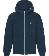 lyle and scott jk1214v lyle&scott softshell jacket, z271 dark navy