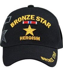 u.s. military cap hat vietnam veteran army marine navy air force (bronze star)
