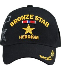 u.s. military cap hat vietnam veteran army marine navy air force (bronze star)
