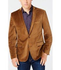 bar iii velvet slim-fit sport coat