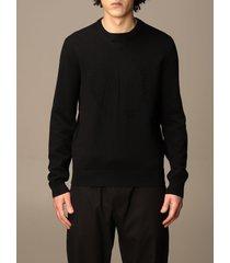 armani collezioni armani exchange sweater armani exchange cotton crewneck sweater