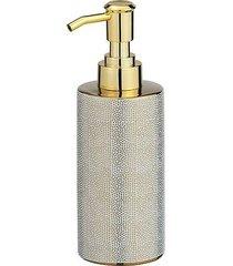 dozownik do mydła luna srebrno złoty