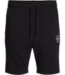jack & jones men's shark sweat shorts