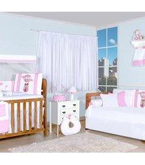 quarto completo padroeira baby balão mágico rosa