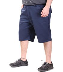 bermuda azul dcd con bolsillos y boton