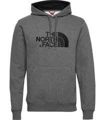 m drew peak plv hd hoodie trui grijs the north face
