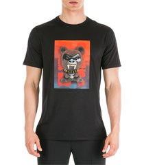 neil barrett short sleeve t-shirt crew neckline jumper fetish bear.03 loose fit