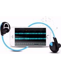 audífonos bluetooth deportivos inalámbricos, h7 auriculares inalámbricos audifonos bluetooth manos libres  sport auriculares estéreo soporta música (azul)